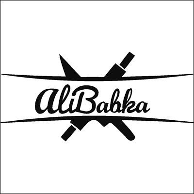 Alibabka logo Square Boxed